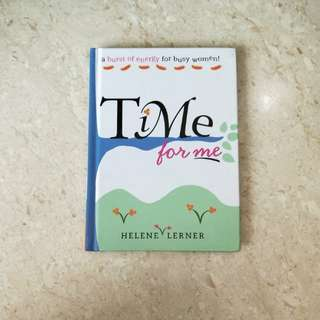 Time for me by Helene Lerner