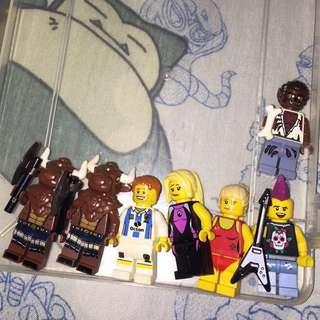 Lego Minifigs (Nego)