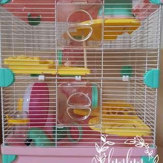 Kandang hamster Alice in Wonderland