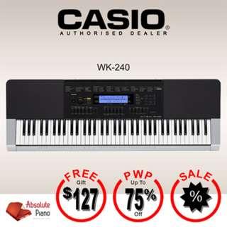CASIO Digital Keyboard: WK-240
