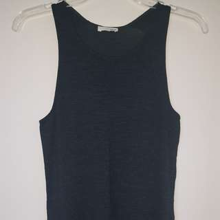 Wilfred Ornella dark green tank top XXS