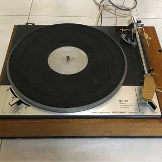 Lenco L75 turntable