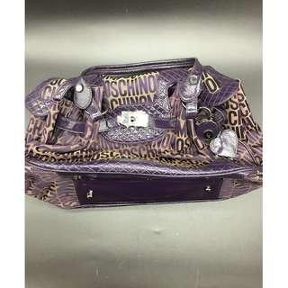 (特價 減價) Moschino Purple handbag