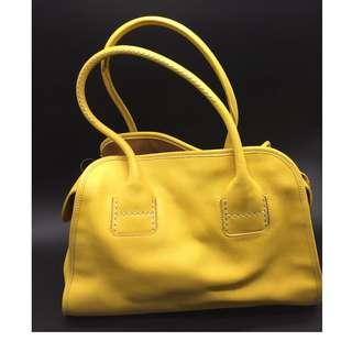 HOGAN YELLOW SHOULDER BAG - HOGAN 手袋