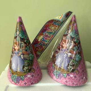 Princess Sofia party supplies set
