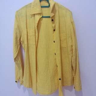 Yellow casual shirt
