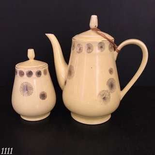 Teapot & Sugar Pot (6)