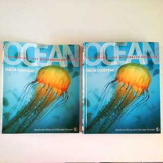 Ocean: The World's Last Wilderness Revealed by Robert Dinwiddie; Philip Eales; Sue Scott; Michael Scott; Kim Bryan; David Burnie; Frances Dipper; Richard Beatty - DK Publication (Adult Non-Fiction Nature Reference)