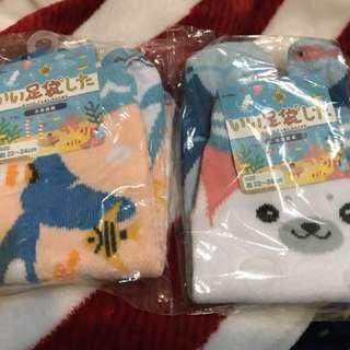 🚚 二雙一起)可愛襪子