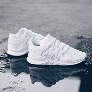 ADIDAS EQT Racing Adv All White Original 100%