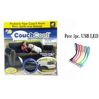 Couch Coat Reversible Washable Sofa Cover Long