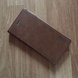 Iphone 6+ case cover genuine leather