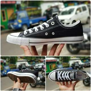Sepatu Converse All Star Basic Low Black White