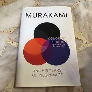 Haruki Murakami Colourless Tsukuru Tazaki