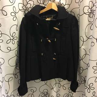JUICY COUTURE Wool Toggle Coat