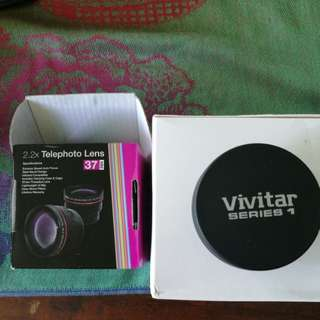 Vivitar 2.2x Telephoto Lens