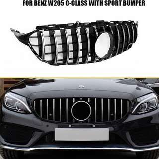 Latest Aftermarket AMG GT Grille for All C-Class W205