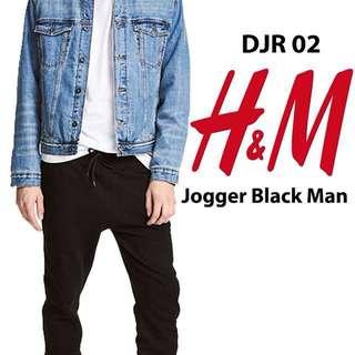 Jogger Pants Black H&M / Divided Ori 100%