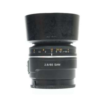 Sony SAM 85mm F2.8 A-Mount Lens