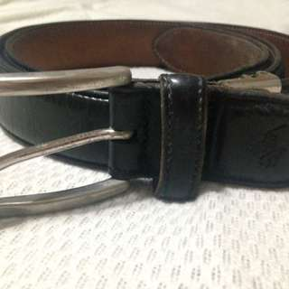 Genuine leather polo ralph lauren belt