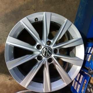 """Volkswagen Original 17"""" Rims (5x112)"""