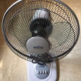Mistral Fan MTF 121  12 inches 30 cm Table Fan