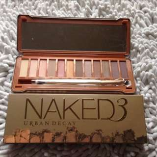 urban decay naked 3 eyes palette