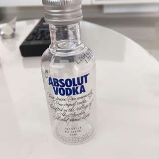 Absolut Vodka Bottle Collectible