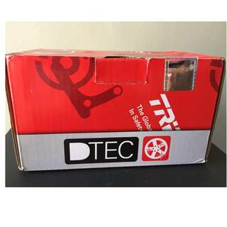 TRW DTEC Ceramic Brake Pad Suzuki Swift 1.5