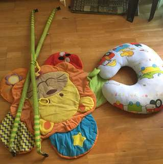 Baby gym & nursing pillow