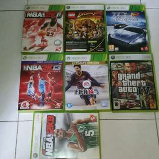 Xbox 360 Games all for