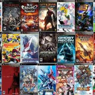Plastation psp Game MonsterHunter Online