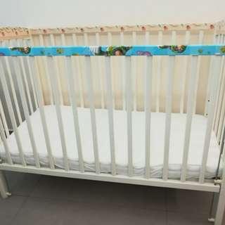 Baby Cot (Adjustable)
