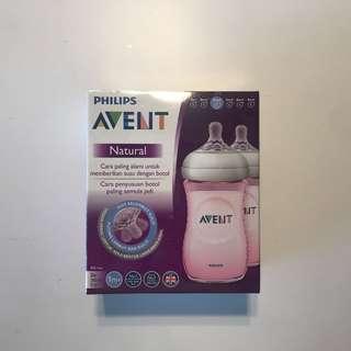 Avent Natural Bottle Pink