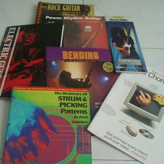 Assorted Guitar Books