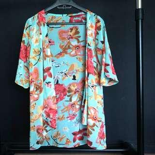 Flower kimono tosca