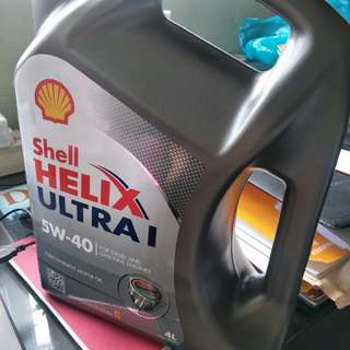 Shell Helix Ultra engine oil