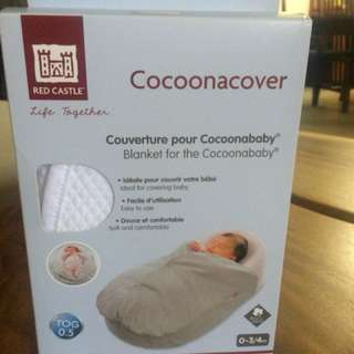 Red Castle Cocoonacover (White)
