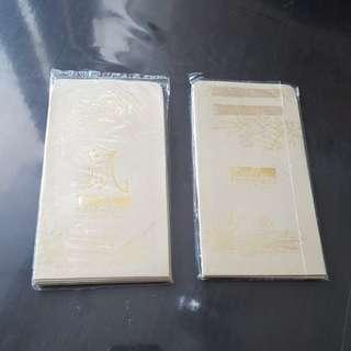 Gold Hongbao 16pcs FREE 1 pc red hongbao