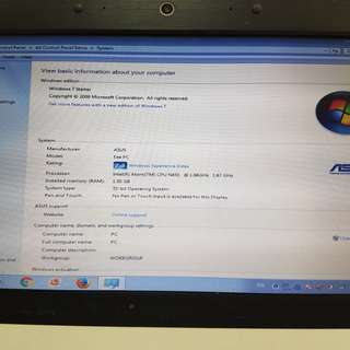 Asus note book