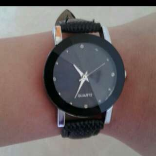 Black elegant watch