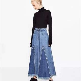 🚚 「新品推薦」歐美時尚百搭高腰流蘇顯瘦闊腿褲