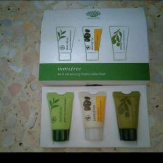 Bnib Innisfree Cleansing Foams collection.