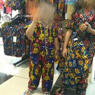 Batik jawa kid satu set