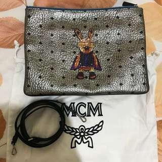 MCM pouch authentic