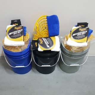 Car Wash Bucket & Grit Guard Wash Board