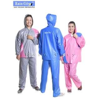 Jas Hujan Stelan Matrix Rain City - 69125