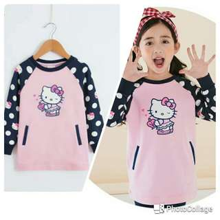 Hello Kitty Top Polka Dress