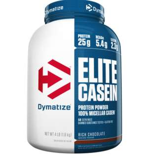 Elite Dymatize Casein (Cookies and Cream Flavor)