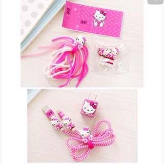 Hello Kitty Cord Protector